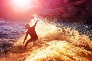 surfista practicando.foto generica