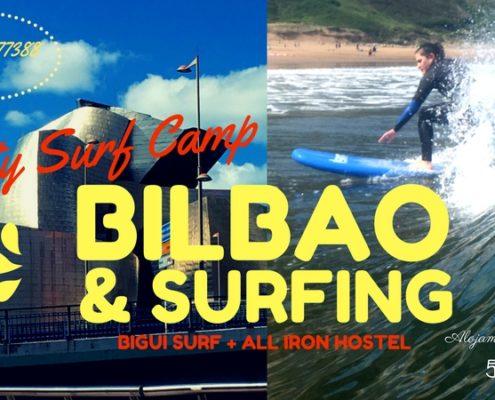 surf camp en bilbao y bigui surf