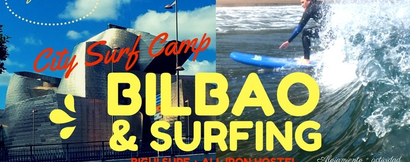 surf camp en bilbao y bigui surf