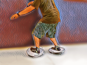 entrenamiento funcional surf con bosu